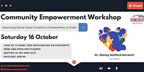 Community Empowerment Workshop tickets