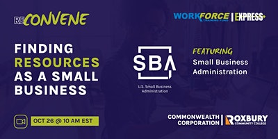ReConvene Series: Finding Resources as a Small Business