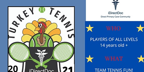 9th Annual iDirectDoc Turkey Tennis Fun-Raiser! tickets
