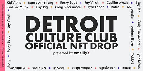 Music NFT Gallery Live Pop Up - Downtown Detroit tickets
