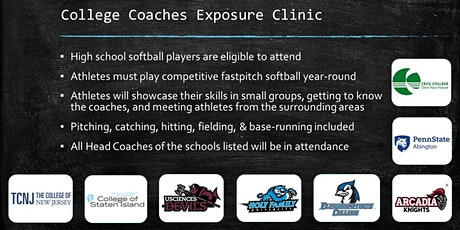 3rd Annual College Coaches Exposure Clinic tickets