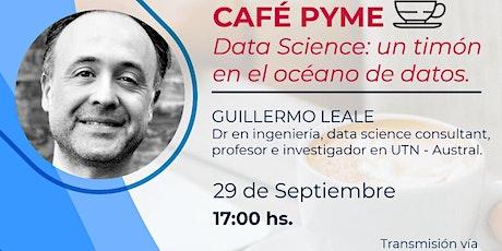 Data Science: un timón en el océano de datos por Guillermo Leale boletos