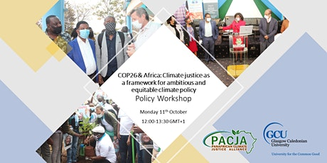 Workshop/COP26 & Africa: Climate justice as a framework for climate policy tickets