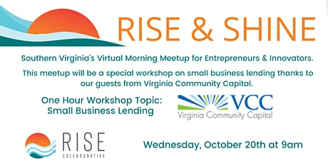 RISE & SHINE with Virginia Community Capital tickets