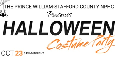 Prince William and Stafford NPHC Halloween Jam and Costume Party tickets