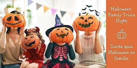 Halloween Family Trivia Night / Soirée quiz Halloween en famille tickets