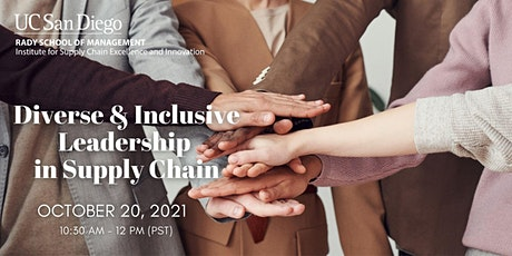 Diverse & Inclusive Leadership in Supply Chain tickets