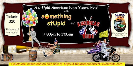 A Stupid American New Year's Eve! tickets