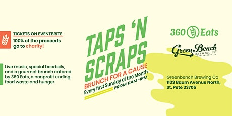 Taps 'N Scraps - Brunch For A Cause tickets