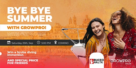 BYE BYE SUMMER BOAT PARTY GPX tickets