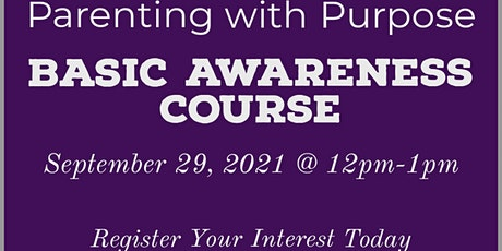 Parenting with Purpose tickets