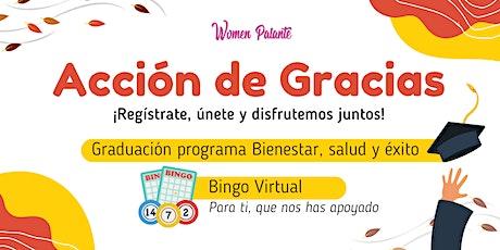 Acción de gracias: Bingo virtual entradas