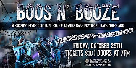 Boos N' Booze Halloween Bash! tickets