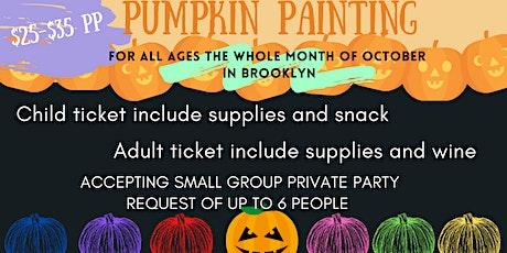 PUMPKIN PAINTING in Brooklyn - Kid Friendly tickets