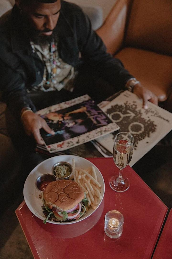 The Waxaholics Present: Burger & Wax Tuesdays at Trez Art & Wine Bar image