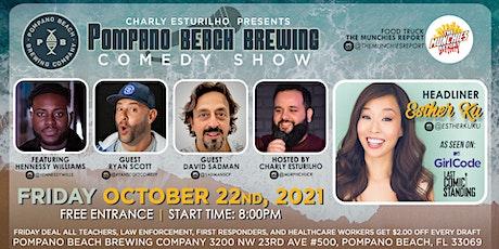 Pompano Beach Brewing Comedy Show tickets