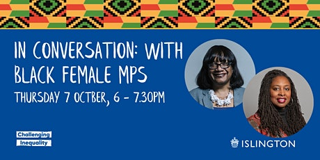 In Conversation: With Black female MPs tickets
