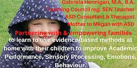 Parent consultations & training in evidence-based methods for ASD children tickets
