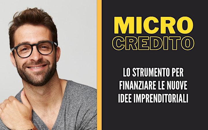Immagine Microcredito Imprenditoriale