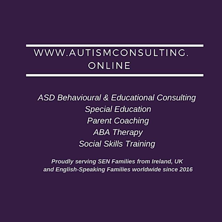 Parent consultations & training in evidence-based methods for ASD children image
