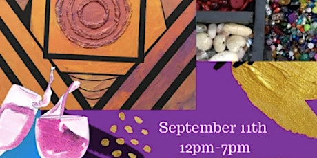 Paint and Sip with Roxy Wuz Here Art at The Jewelry Instructor's Bead Bar tickets
