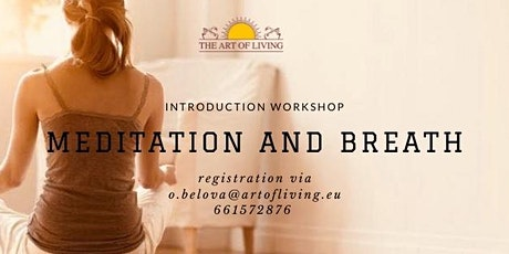 Meditation and Breath - Introductory workshop tickets