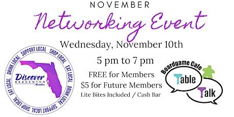 Discover Bradenton's November Networking Event tickets