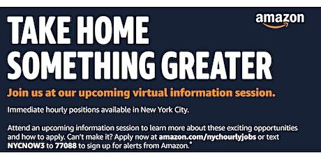 Amazon Virtual Information Session tickets