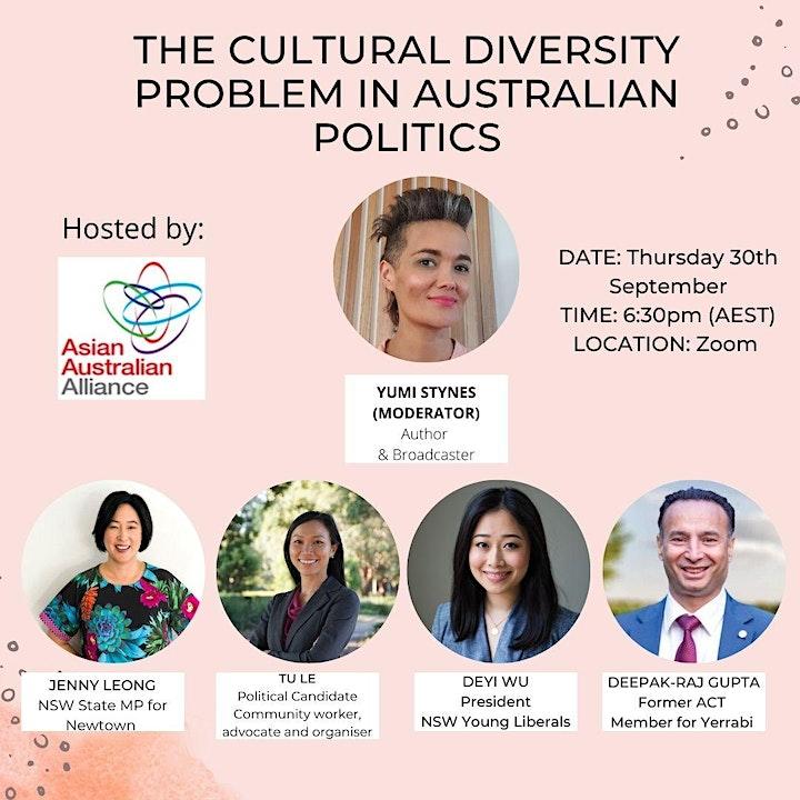 The Cultural Diversity Problem in Australian Politics image