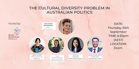 The Cultural Diversity Problem in Australian Politics tickets
