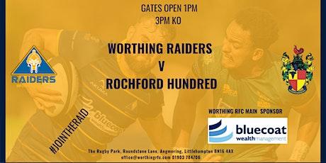 Worthing Raiders V Rochford Club tickets