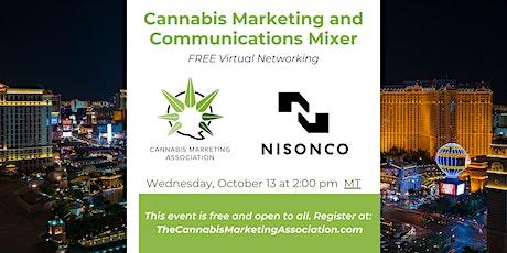 Cannabis Marketing and Communications Mixer biglietti