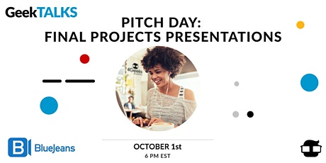 Pitch Day: Final Project Presentations tickets