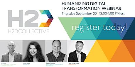 Humanizing Digital Transformation tickets
