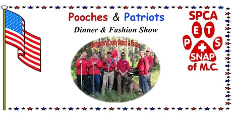 Pooches & Patriots Dinner & Fashion Show tickets
