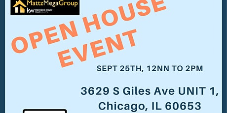 Open House in Chicago! tickets