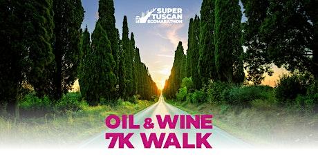 Oil&Wine - 7K Walk (Super Tuscan Ecomarathon) biglietti