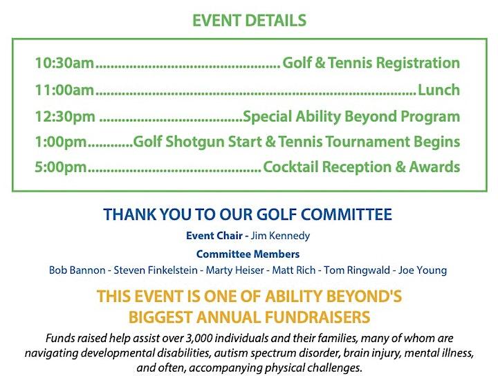 Ability Beyond Golf & Tennis Tournament image