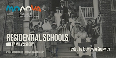 Residential Schools: One Family's Story with Tsawaysia Spukwus tickets