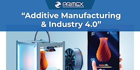 """Additive Manufacturing & Industry 4.0"" bilhetes"