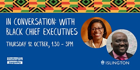 In Conversation: With Black Chief Executives a lunch time special tickets