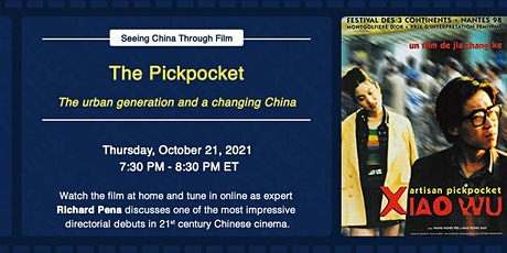 """Seeing China Through Film: Jia Zhangke on """"The Pickpocket"""" tickets"""