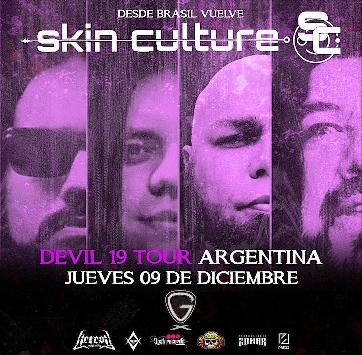 Imagen de Skin Culture (Brasil) - DEVIL 19 TOUR - GIER MUSIC CLUB