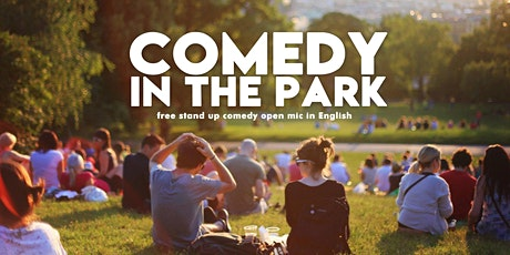 Comedy in the park - Stand-up in English tickets