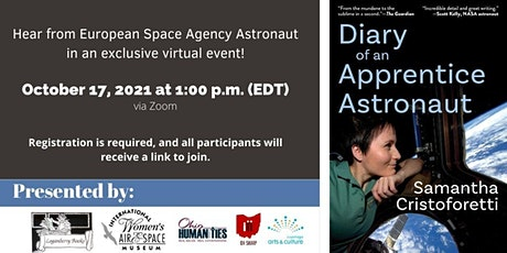"""""""Diary of an  Apprentice Astronaut"""" Book Discussion tickets"""