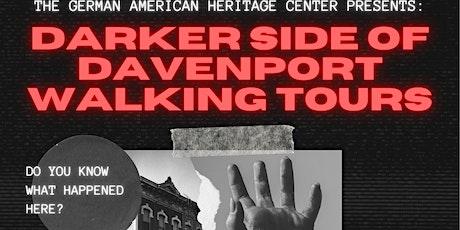 Darker Side of Davenport Walking Tour tickets