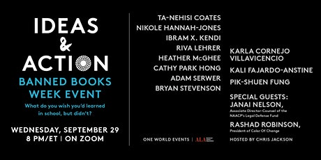 Ideas & Action: Banned Books Week Event tickets