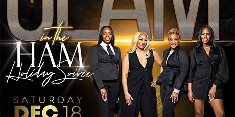 """GLAM in The """"HAM! Holiday Soiree tickets"""
