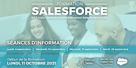 FORMATION SALESFORCE Administrateur [Séance d'info] tickets