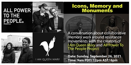 Icons, Memory &  Monuments: A conversation about memory work tickets